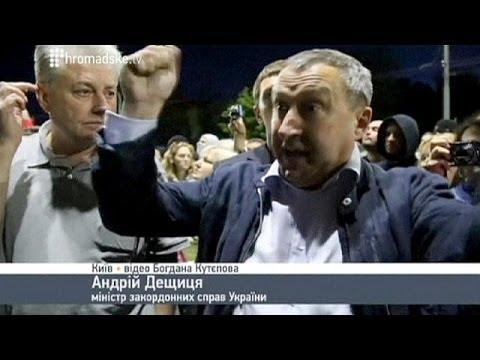 Putin slur by Ukraine minister triggers diplomatic row