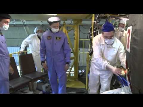 Expedition 38/39 Crew Prepares for Launch in Kazakhstan