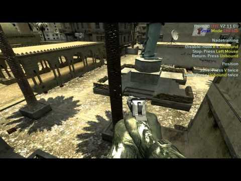 [CoD4]Урок по прострелами и бросков гранат