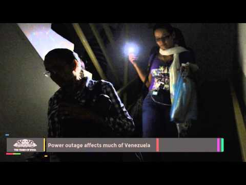 Power Outage Affects Much Of Venezuela - TOI