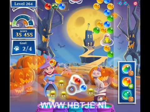 Bubble Witch Saga 2 level 264
