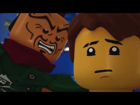 Lego NinjaGo 58 - Smolná tvrz stoupá