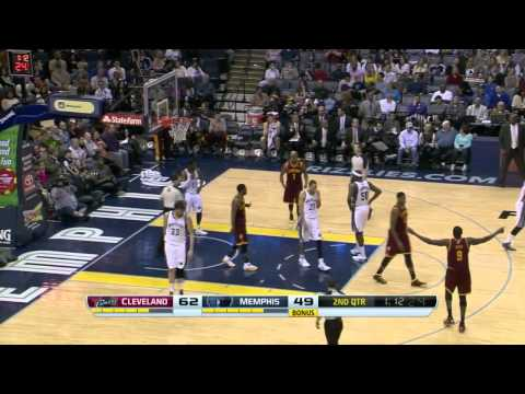 Cleveland Cavaliers vs Memphis Grizzlies | March 1, 2014 | NBA 2013-14 Season