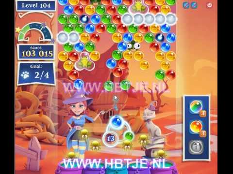 Bubble Witch Saga 2 level 104