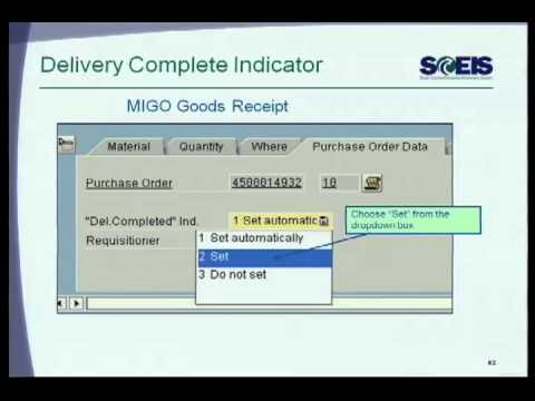 SCEIS CO500C DHEC Year End Closing Procurement and Inventory Management Training part 1 Sonia Young
