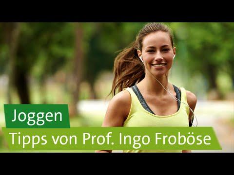 Joggen: Tipps für Anfänger von Prof. Ingo Froböse