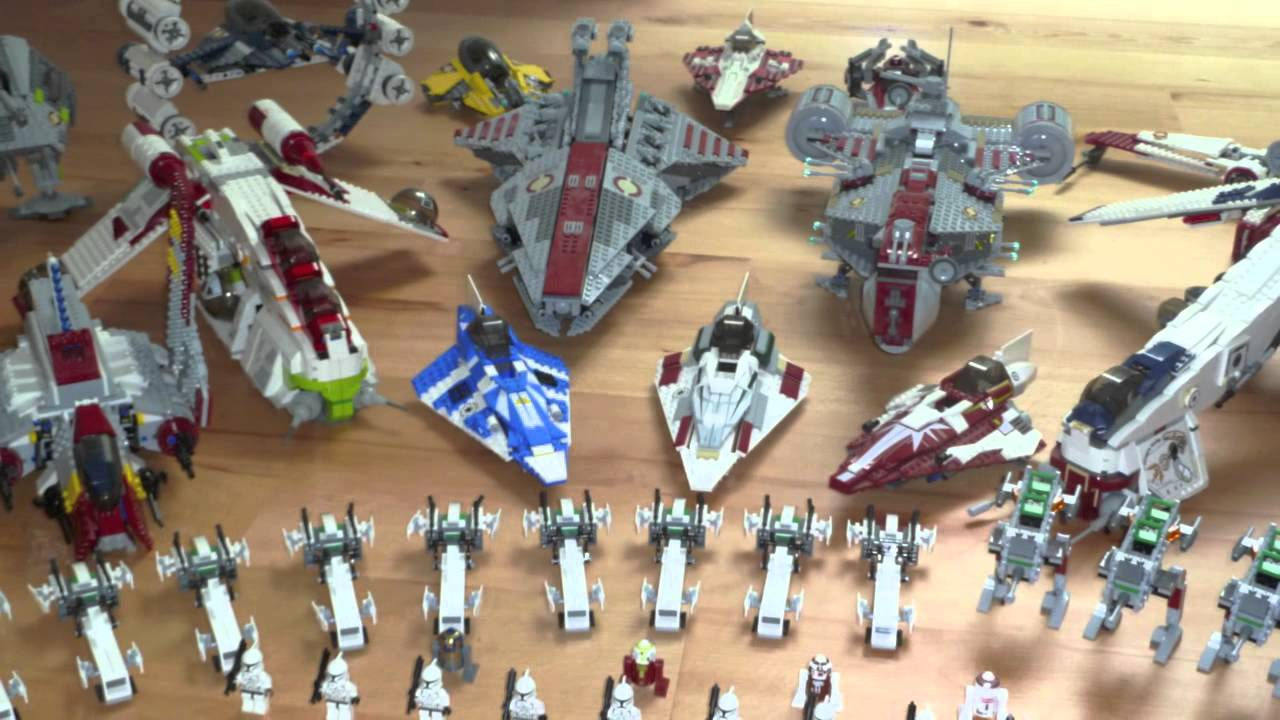 My lego star wars clone empire and droid army youtube - Lego star wars base droide ...