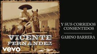 Vicente Fernández - Gabino Barrera (Cover Audio)