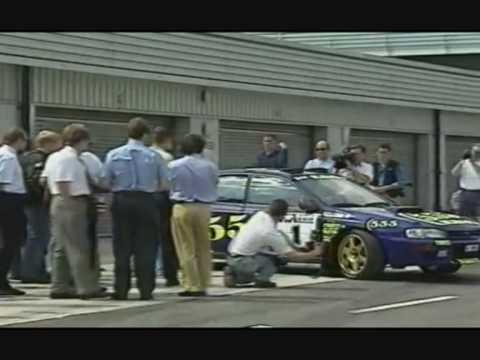 Colin McRae testing Jordan F1