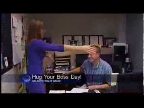 Bosses Day Quotes Card National Quot Hug Your Boss Day Quot