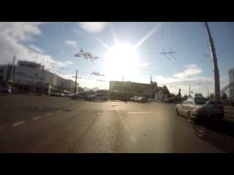 Cycling Time Lapse. Minsk.