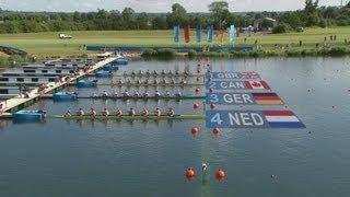 Men's Eight Rowing Heats Highlights - London 2012 Olympics
