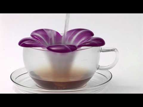 Koziol Audrey Flower Tea Strainer