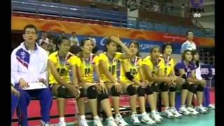 Thailand Vs Japan'2010 Asian Games Women's Volleyball