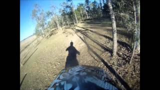 [Dirtbike vs kangaroo] Video
