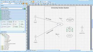 Use case uml diagrams example understanding creating them using use case uml diagrams example understanding creating them using microsoft visio youtube ccuart Choice Image