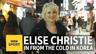 Winter Olympics: Team GB's Elise Christie is a big deal in South Korea - BBC Sport