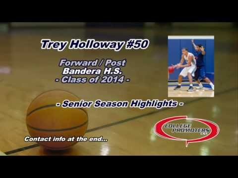 Trey Holloway Senior Season Highlights