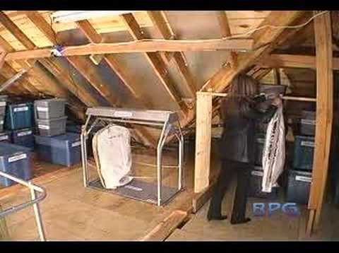 Versa Lift Attic System Youtube