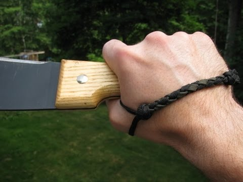 Paracordist: how to determine proper measurements for custom PSK paracord knife lanyard