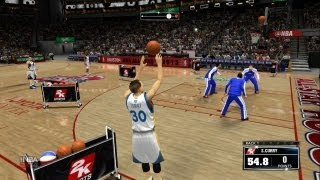 NBA 2K14 All Star Three Point Contest! Ft Steph Curry