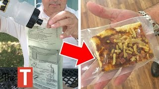 The GROSS Truth Behind Military Food (MREs)