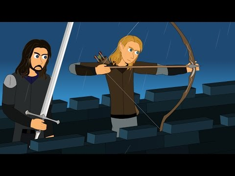 "Lord of the Rings Parody - ""Lord of the Wands"" (Harry Potter + LOTR)"