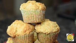 Masala Sweet Potato Muffins