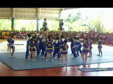 Lyceum of the Philippines - Laguna Engineering Pep Squad 2010