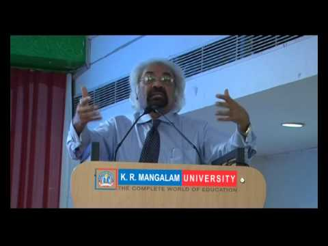 Inspiring Speech by Mr. Sam Pitroda