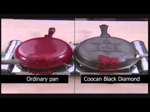 Coocan Black Diamond Quality Frying Pans