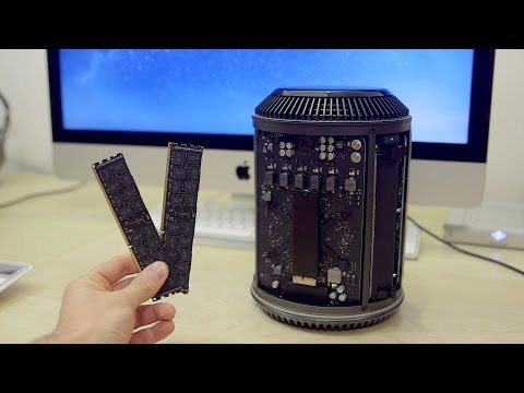 How To: Apple Mac Pro RAM Upgrade! (Late 2013)