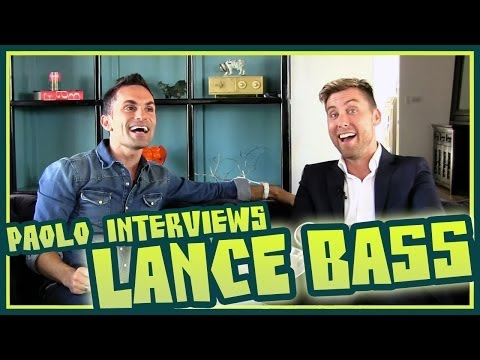 "Lance Bass talks 'NSync, ""Walking on Air"", & ""Kidnapped for Christ""!"