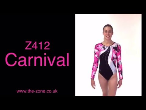 Carnival Long Sleeve Gymnastics Leotard