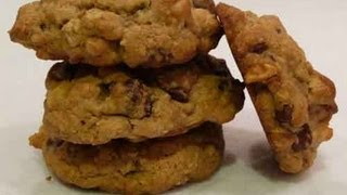 Chocolate Chip and Walnut Cookies..