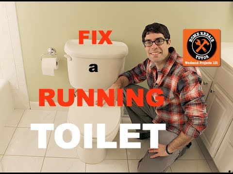 My Toilet Keeps Running >> Fix a Toilet That Keeps Running -- by Home Repair Tutor - YouTube