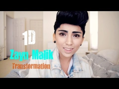 Transforming into Zayn Malik with Makeup