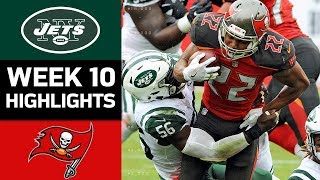 Jets vs. Buccaneers | NFL Week 10 Game Highlights