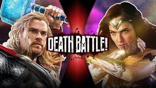 Thor VS Wonder Woman (Marvel VS DC Comics)   DEATH BATTLE