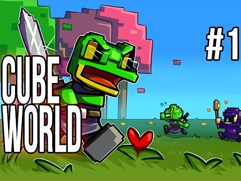 Cube World (Alpha) | Ep.1 | The Hype HYPE HYYYYPEEE!!!, Show your support by leaving a like! If we break 9,000 likes ill post the next video right away :D! Come on Homies lets destroy these goals! Official SlyFoxH...
