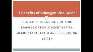 Documents for Schengen visa (with free templates)