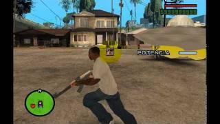 Como Sacar Obtener Un OVNI En GTA San Andreas Con Clave