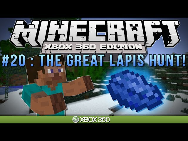 "Minecraft Xbox | ""THE GREAT LAPIS HUNT"" 
