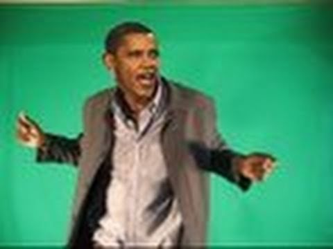 President  Obama dances to the death of Osama.(President Obama on Death of Osama bin Laden)for 2012
