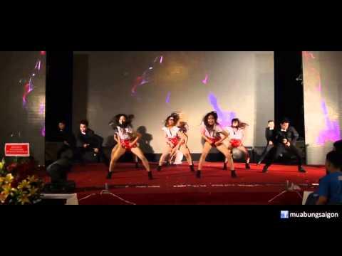 Dance all night - Nhóm nhảy hiện đại và múa bụng SaigonBellydance diễn sự kiện tất niên Lê Phan 2014