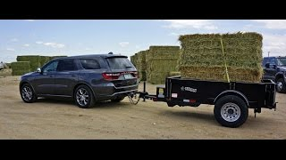 MrTruck Reviews 2014 Dodge Durango, Towing Cimarron Horse