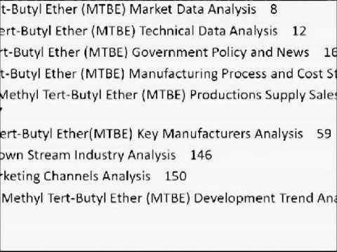 What You Need to Know About Methyl Tertiary Butyl Ether (MTBE)