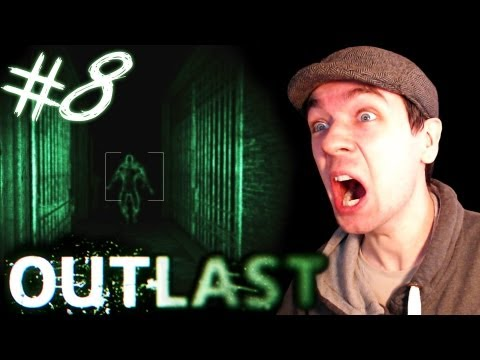Outlast - Part 8 | DEMON IN THE DARK | Gameplay Walkthrough - Commentary/Face cam reaction