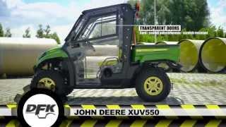 JOHN DEERE GATOR XUV 550 MODEL UTV WITH THE NEW CAB