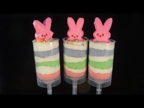 Bunny Peeps Push Pops
